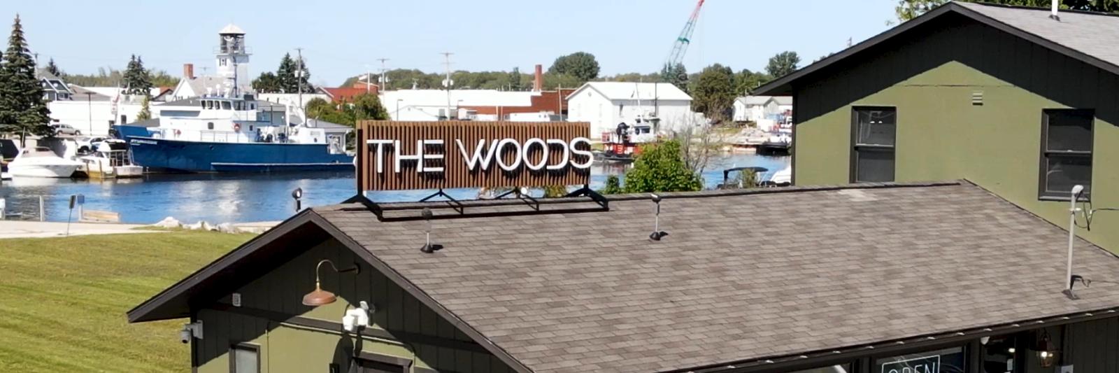 The Woods Cheboygan Banner