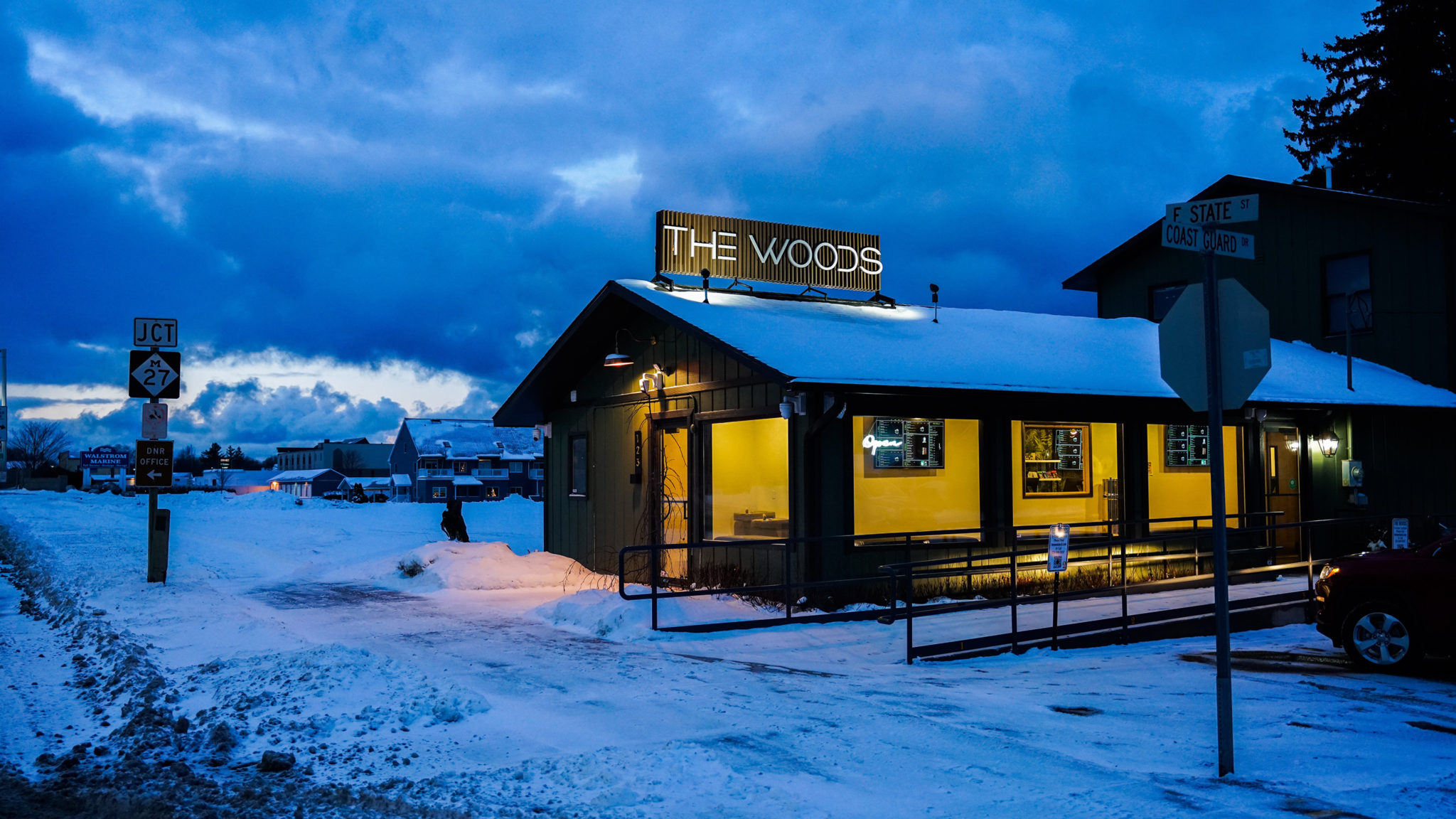 The Woods Cheboygan is now Open